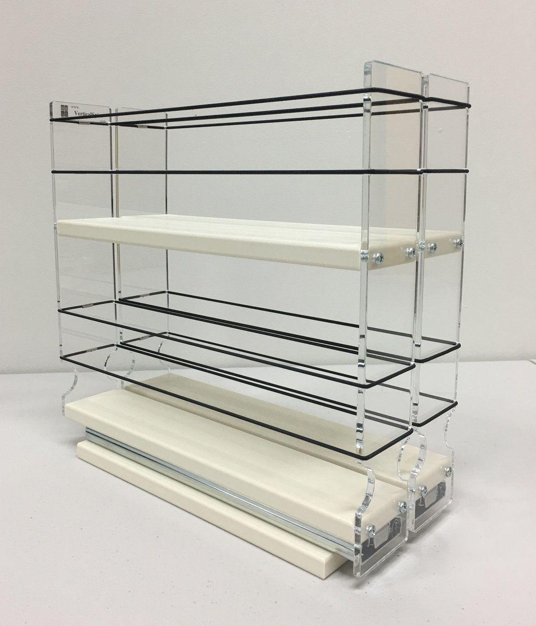 22x2x11 spice rack drawer cream in 2020 spice rack
