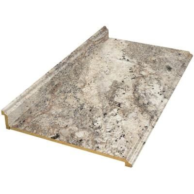 Hampton Bay 6 Ft Laminate Countertop In Classic Crystal Granite