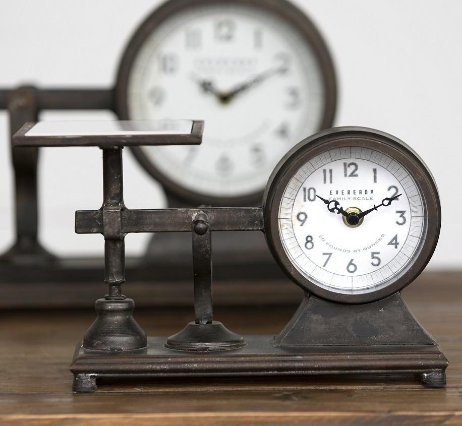 Small Decorative Hardware Scale Clock Clock Design Clock Decor