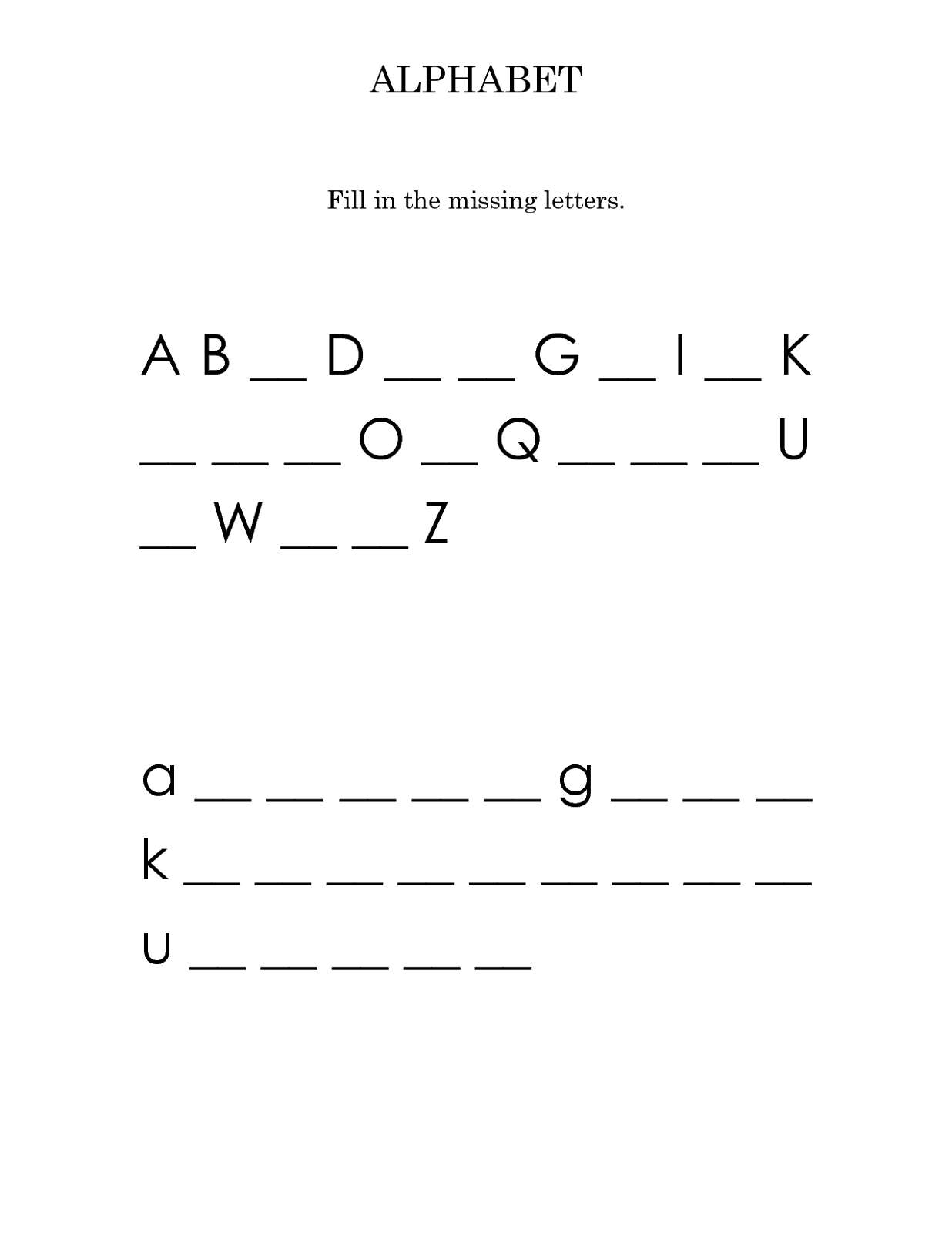 capital letter worksheets printable activity shelter kids