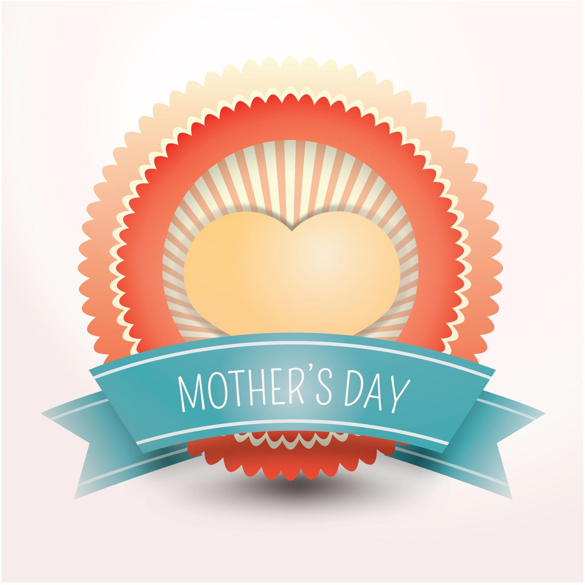 Mothers Happy Day Festival Greeting Cards Vector 500 Best Mothers