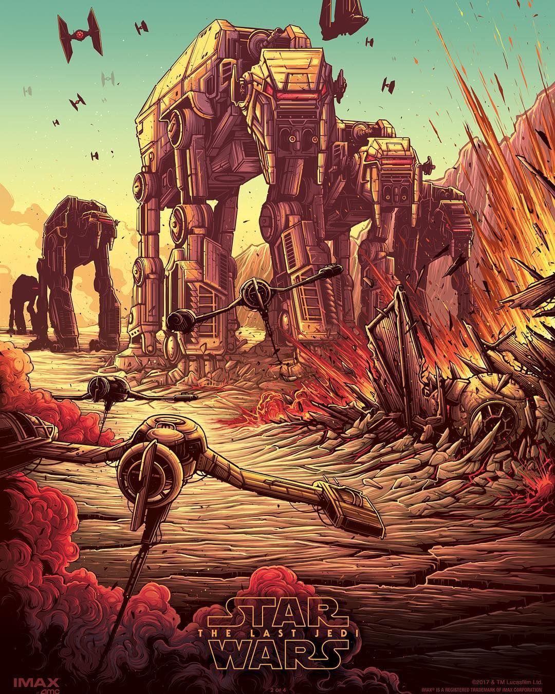 Battle Of Crait Star Wars The Last Jedi Star Wars Art Star Wars Artwork Star Wars Poster