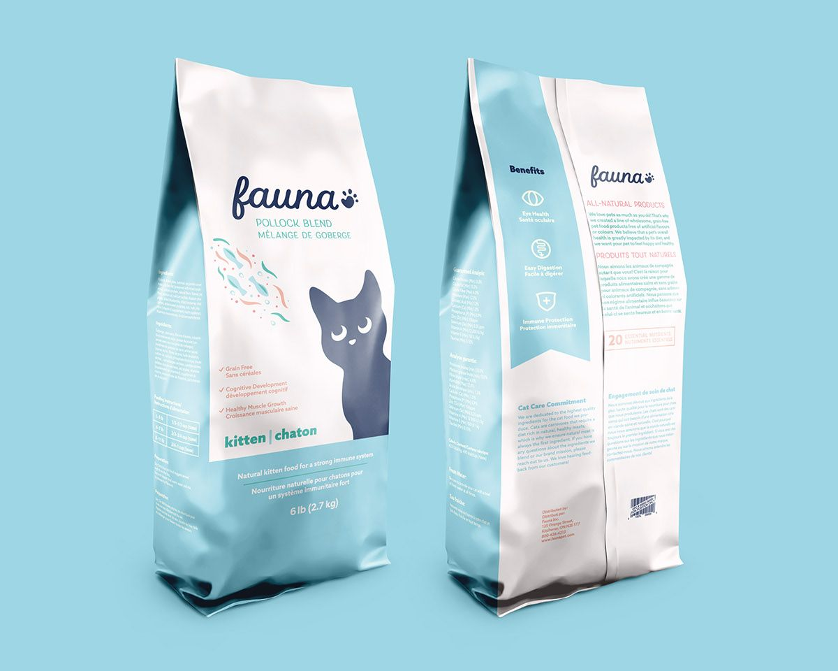 Cat Food Packaging On Behance In 2020 Cat Food Pet Food Packaging Food Packaging Design