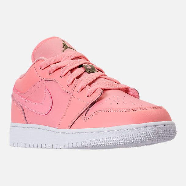wholesale dealer bf6cb 945fb Nike Girls  Grade School Air Jordan 1 Low (3.5y - 9.5y) Casual Shoes