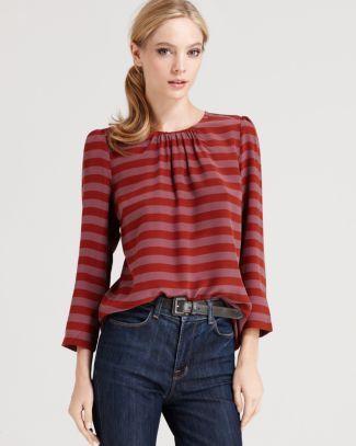 Tegan Top - Two See Em Stripe Long Sleeve | Bloomingdale's