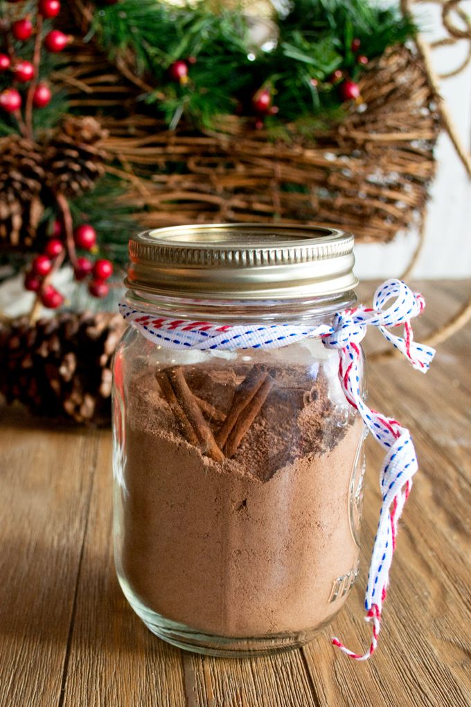 Make it Spicy! Homemade Mexican Hot Chocolate Mix