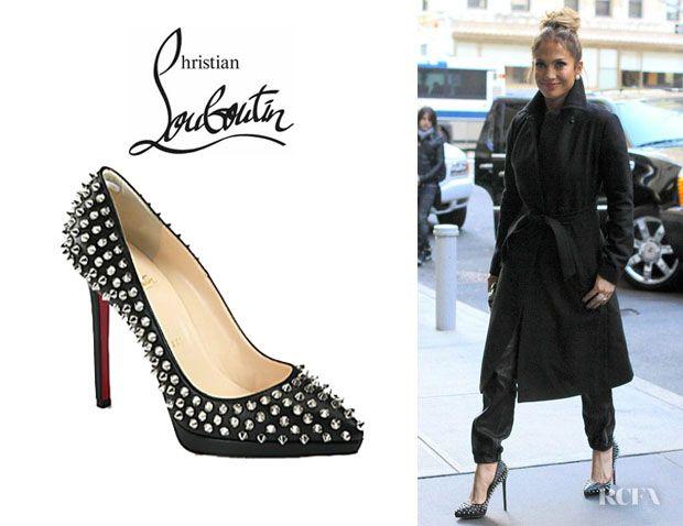 Jennifer Lopez\u0027 Christian Louboutin \u0027Pigalle Plato\u0027 ...