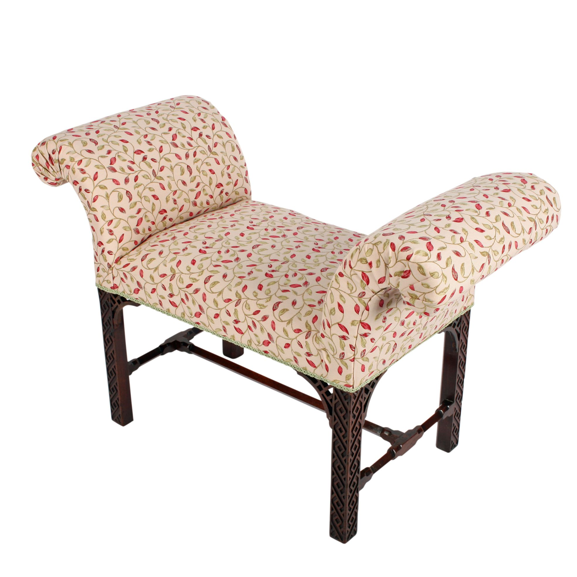 Chippendale Mahogany Window Seat Antique Bedroom Furniture Antique Chairs Furniture