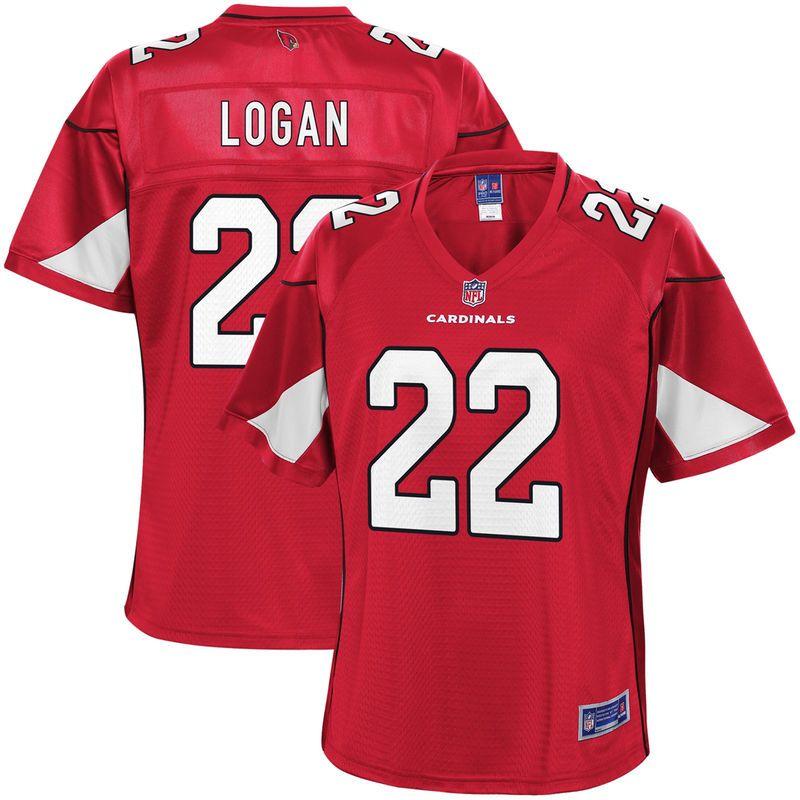 4c7f56adffca T.J. Logan Arizona Cardinals NFL Pro Line Women s Team Color Player Jersey  – Cardinal