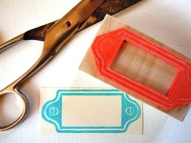 stempel namensschild i 39 m impressed pinterest stamp stamp carving und my stamp. Black Bedroom Furniture Sets. Home Design Ideas