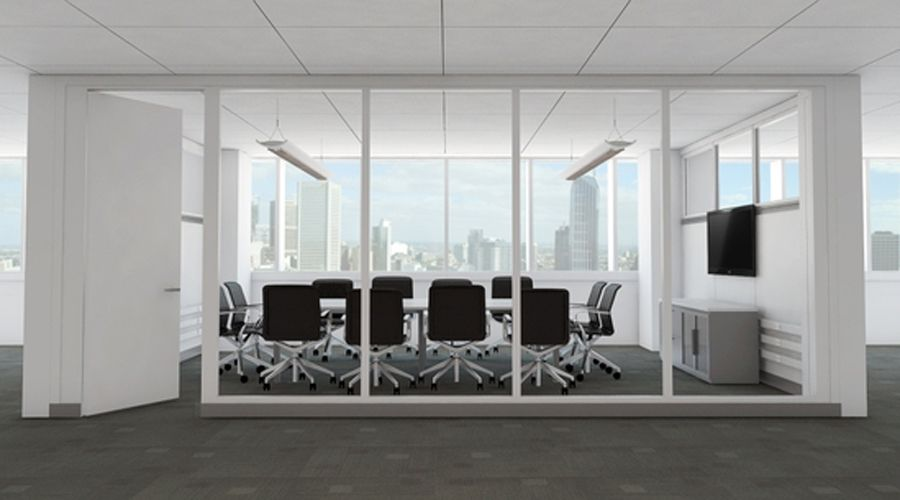Contemporary Conference Room Office Partition Design of Infive by