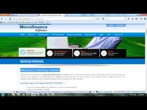 Banking Software Microfinance Software Rd Fd Software Co Operative Banking Software Marketing Software Payroll Software