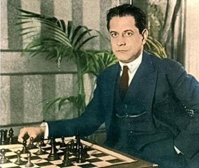 Jose Capablanca (1888-1942) from Cuba, widely considered to