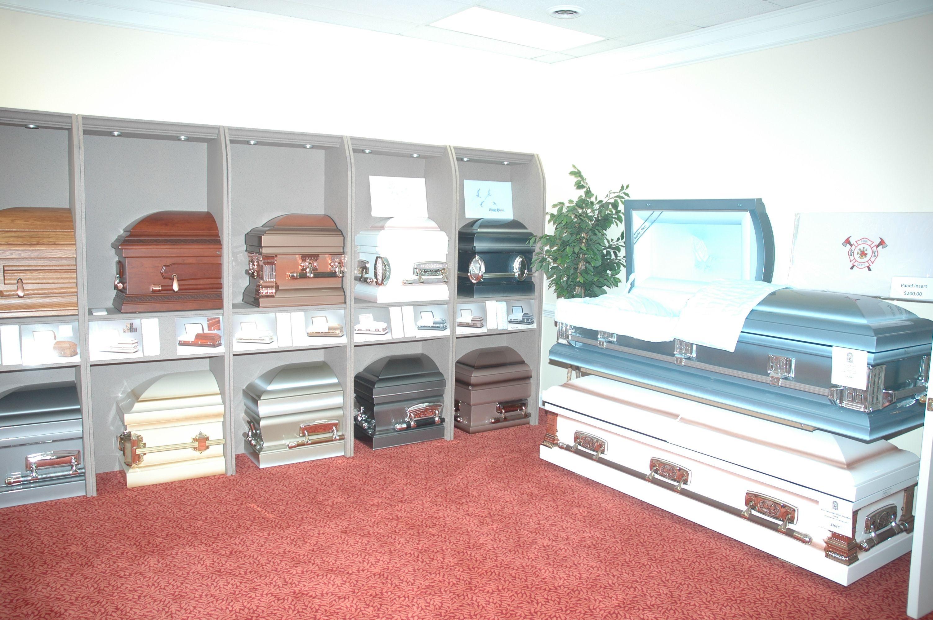 showroom funeralcaskets caskets