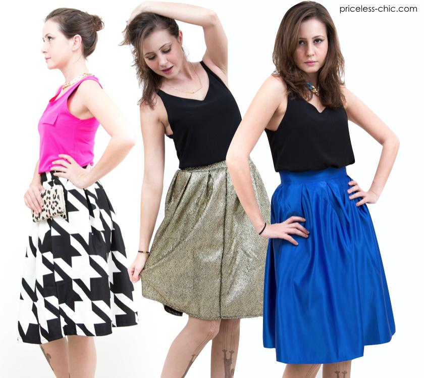 #midi #skirt #pretty #cute #model #fashion