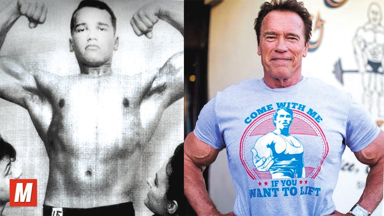 Arnold schwarzenegger from 17 to 69 years old sport videos arnold schwarzenegger malvernweather Image collections