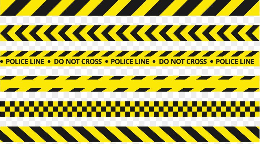 Police Line Do Not Cross Road Traffic Control Device Vector Yellow Police Tape Polisi Desain Logo Grafis