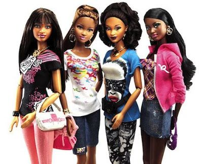 Barbie Logo Coloring Pages : African barbie dolls without makeup girl games wallpaper coloring