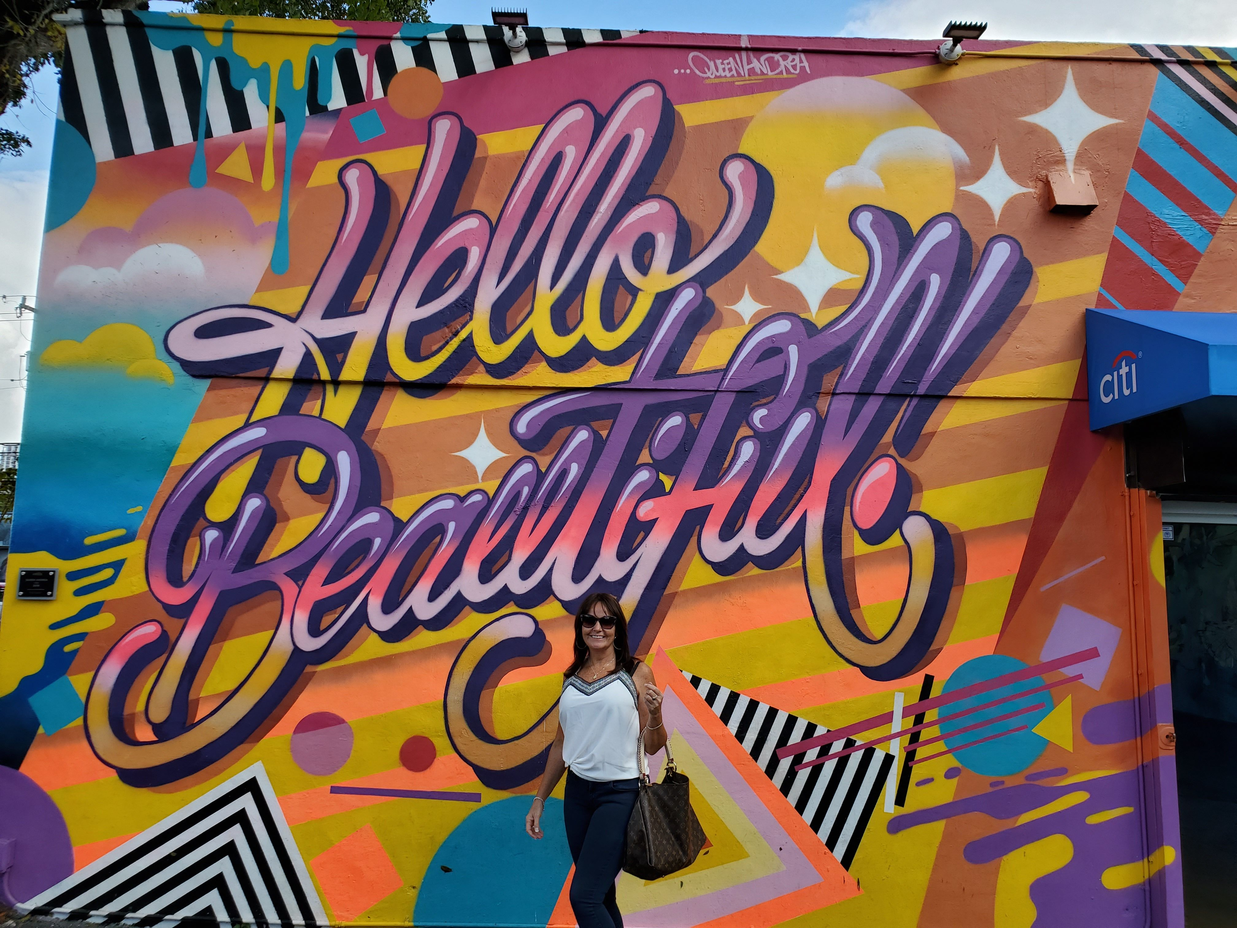 Wynwood walls Theresa Hart Florida Real Estate Agent in
