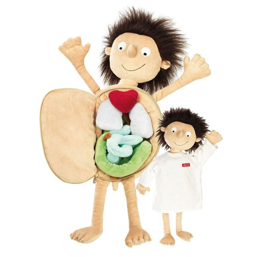 Erwin the Little Patient | Educational dolls, Unique toys ...