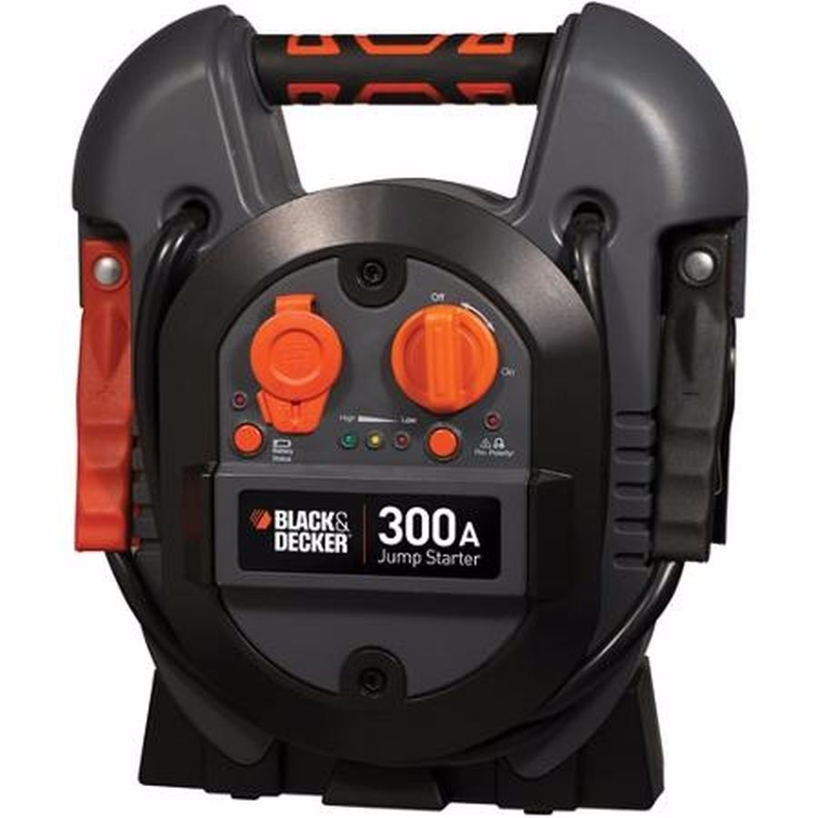 Black & Decker 300Instant/600Peak Amp Jump Starter