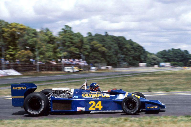 1978 GP Argentyny (Divina Galica) Hesketh 308E - Ford