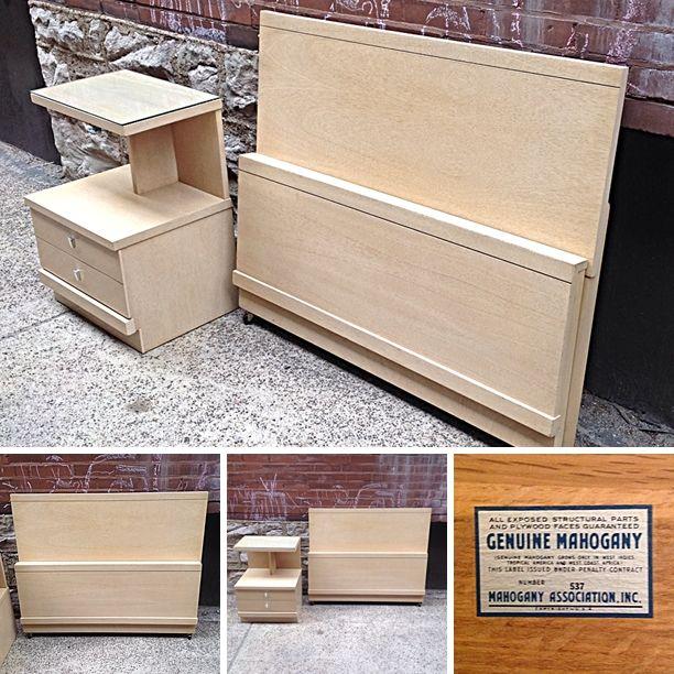 #MidCenturyModern #Blonde #Mahogany #TwinBeds  Info @Link Below | Rocket  Century. Mid Century Modern FurnitureSt LouisRocketsFire ...
