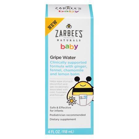 Zarbee S Naturals Baby Gripe Water Gripe Water Natural