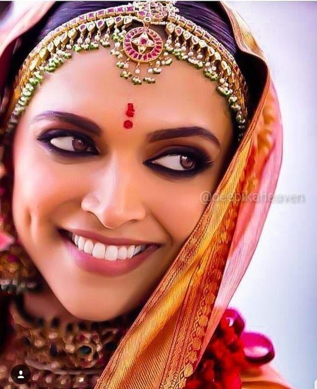 Deepika Padukone | Indian wedding makeup, Indian bridal ...