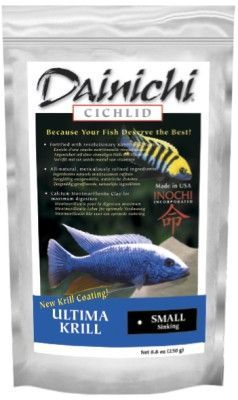 Dainichi Fish Food Cichlid Color Supreme Floating Small 8.8 oz