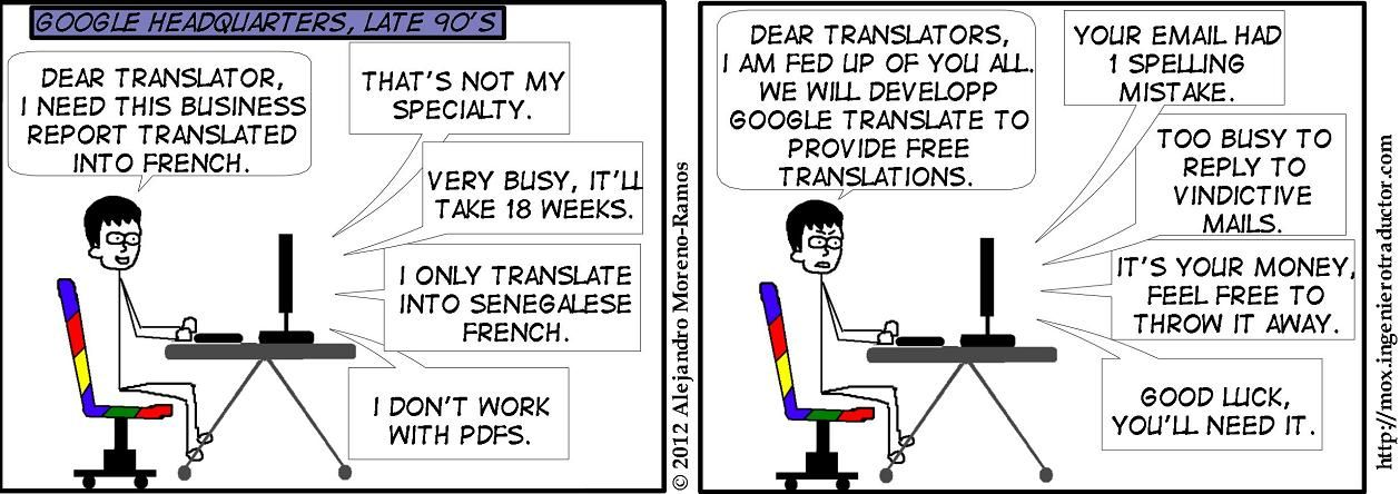 English To Italian Translator Google: Google Translate Translates Very Well... Into Its Own