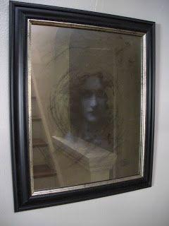 9bb587655129 DIY  A Creeptastically Eerie Mirror - more expensive but also creepier