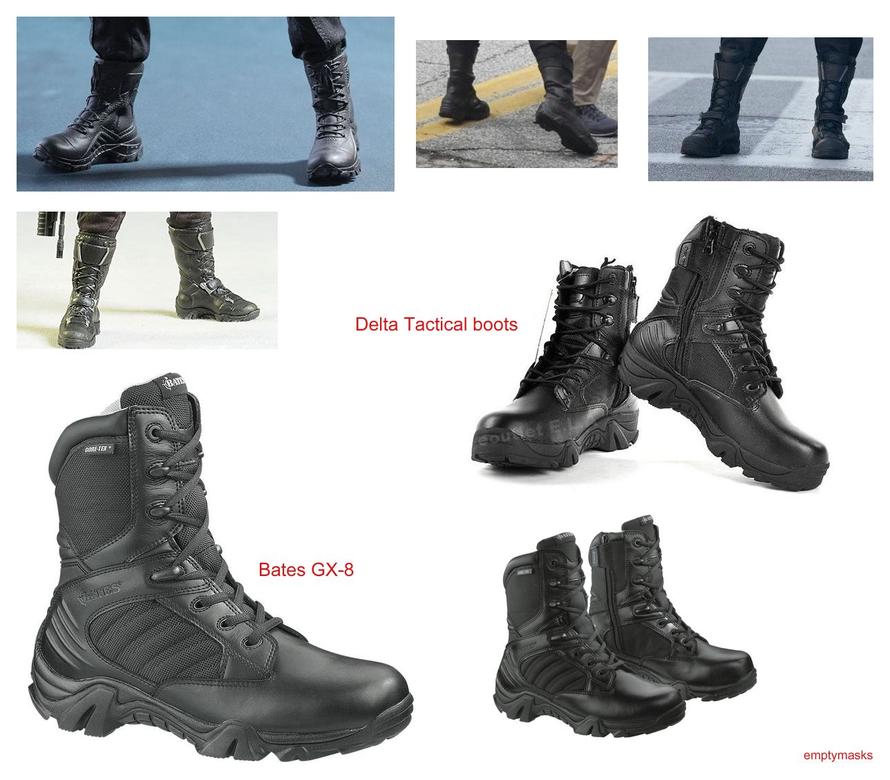 winter soldier boots