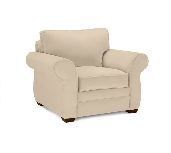 Pearce Roll Arm Upholstered Armchair Upholstered Arm