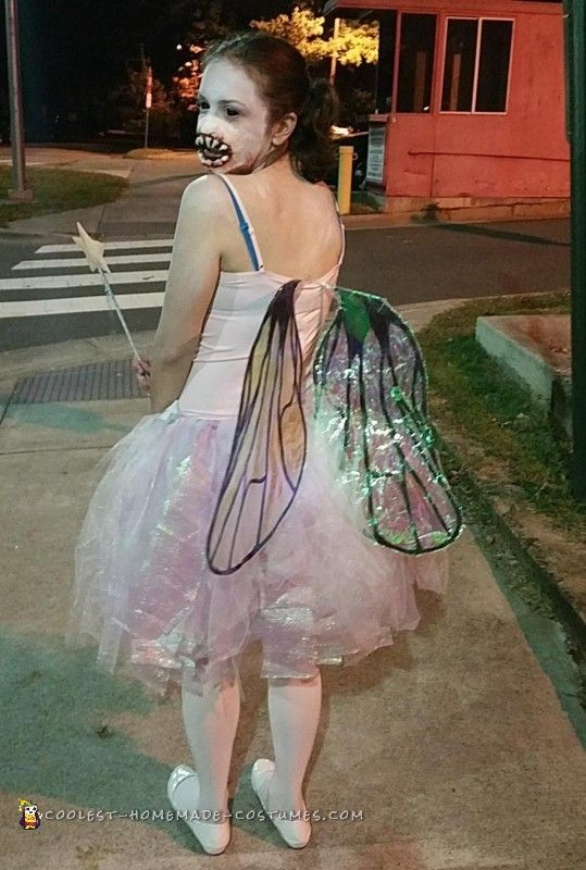Homemade Terrifying Tooth Fairy Costume.  sc 1 st  Pinterest : home made fairy costume  - Germanpascual.Com