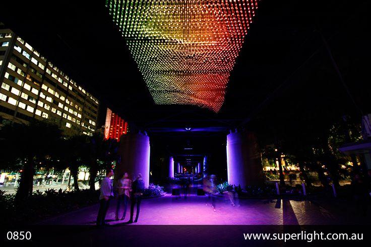 wonderful led constructions at the vivid light festival in sydney