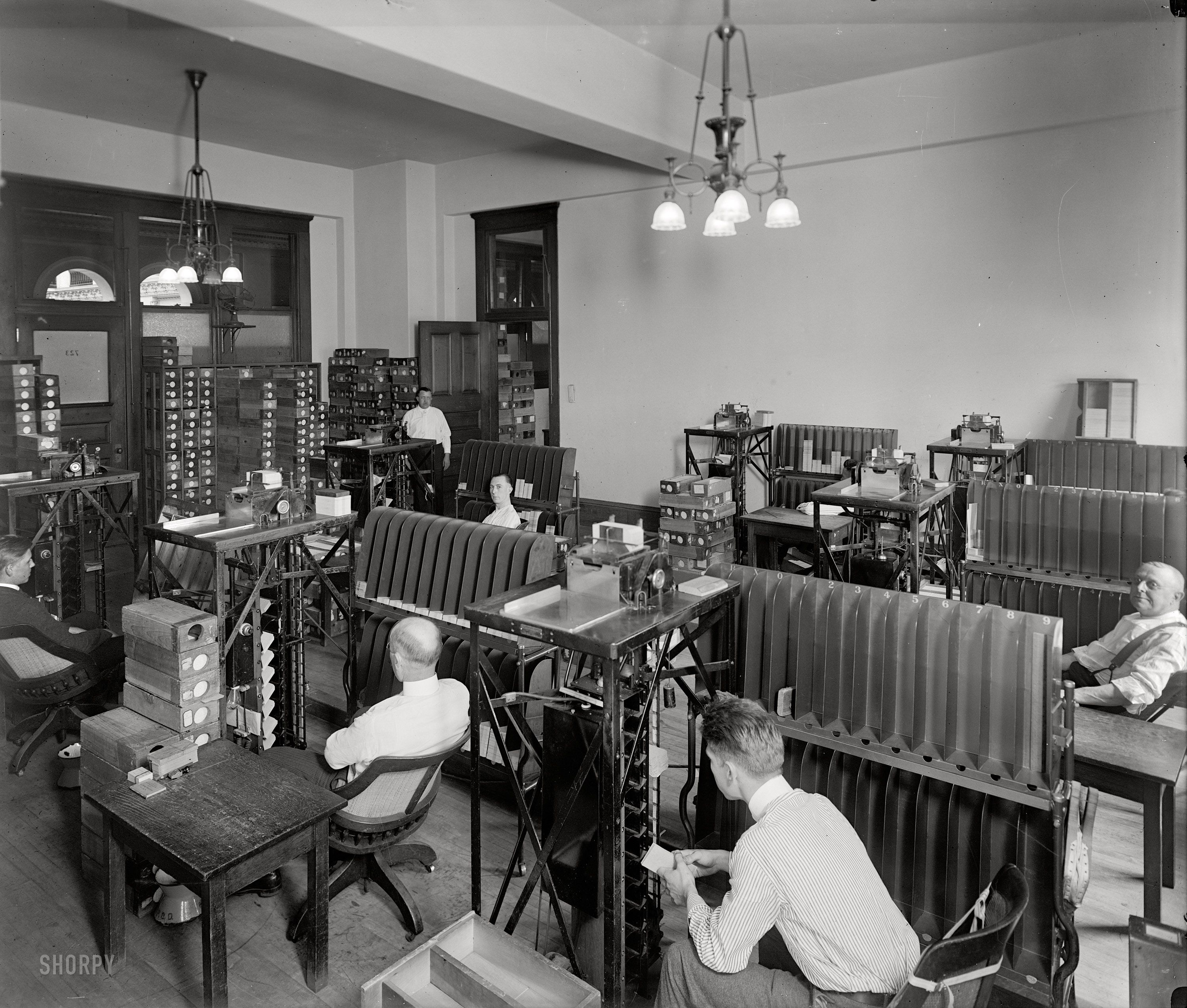 (c. 1920) Tabulating Machine Co. - Washington, D.C.