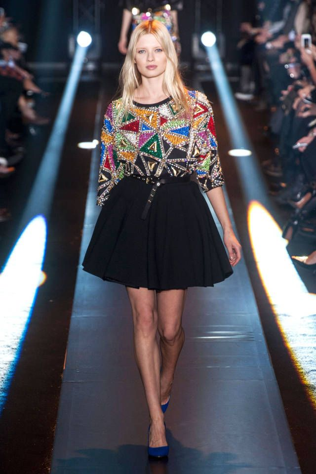 See the best runway looks straight from Milan Fashion Week: Fausto Puglisi