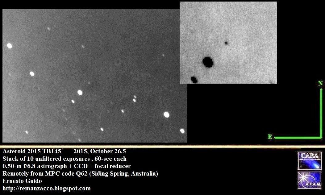 Il ritratto dell'asteroide di Halloween | OggiScienza
