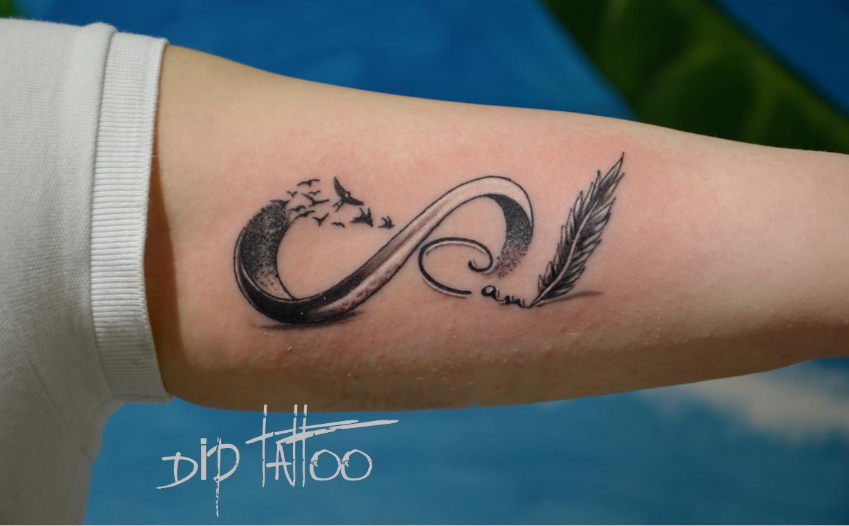 Sonsuzluk işareti: dövme ve anlamı