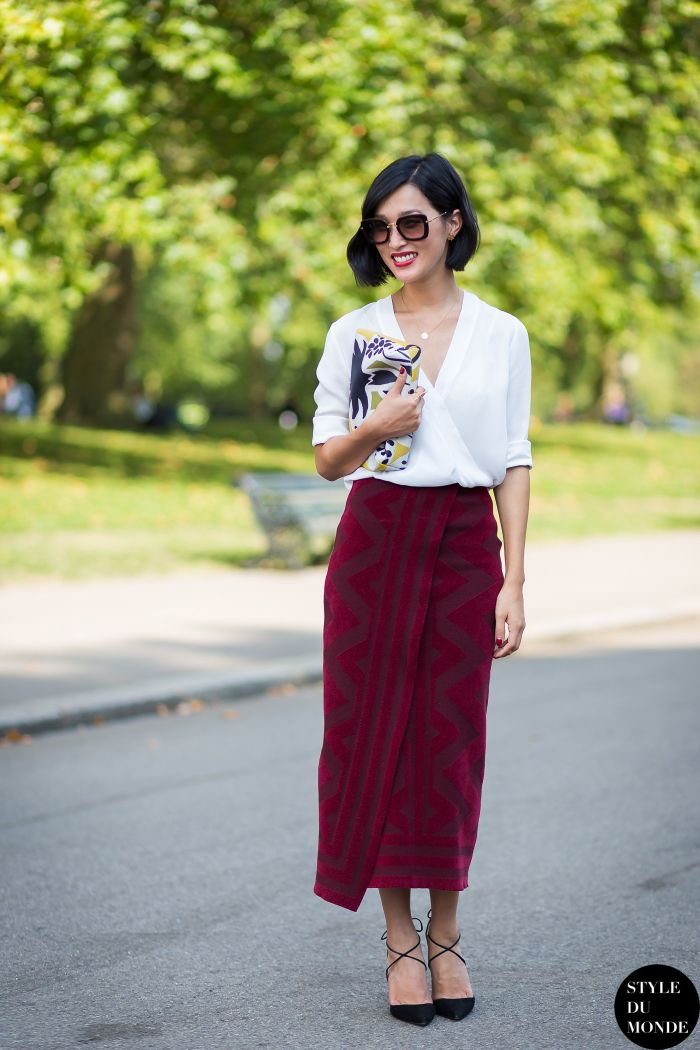 Must Have Skirt Styles You Should Have in Your Wardrobe -- . Draped Wrap Skirt
