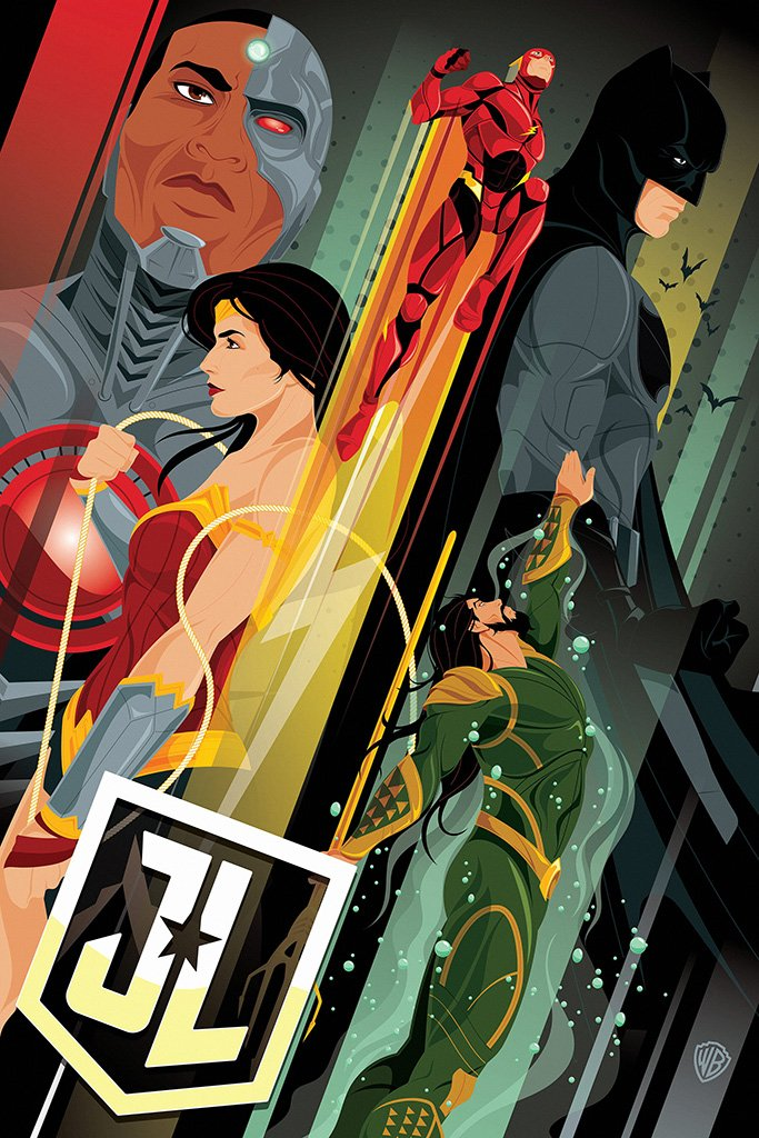 Justice League 2017 Movie Comics Art Poster Justice League Art Comics Justice League 2017