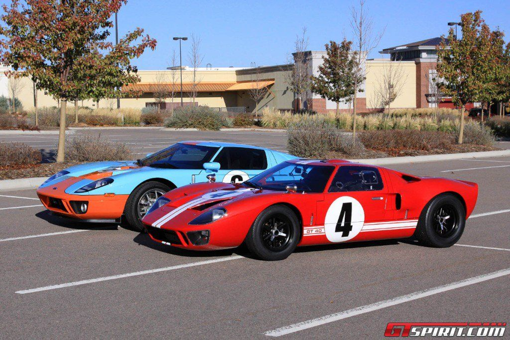 Ford Gt Vs Gt