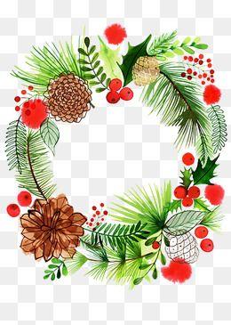 Christmas Wreath Element