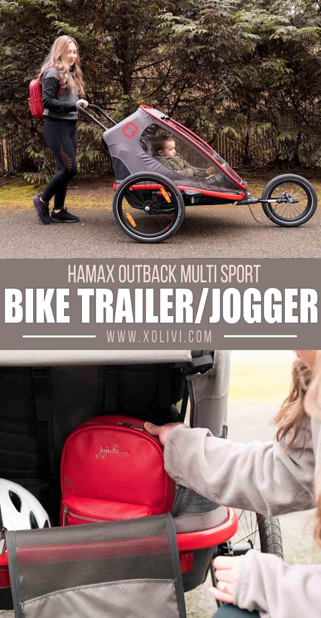 Hamax MultiSport Bike Trailer + Stroller + Jogging