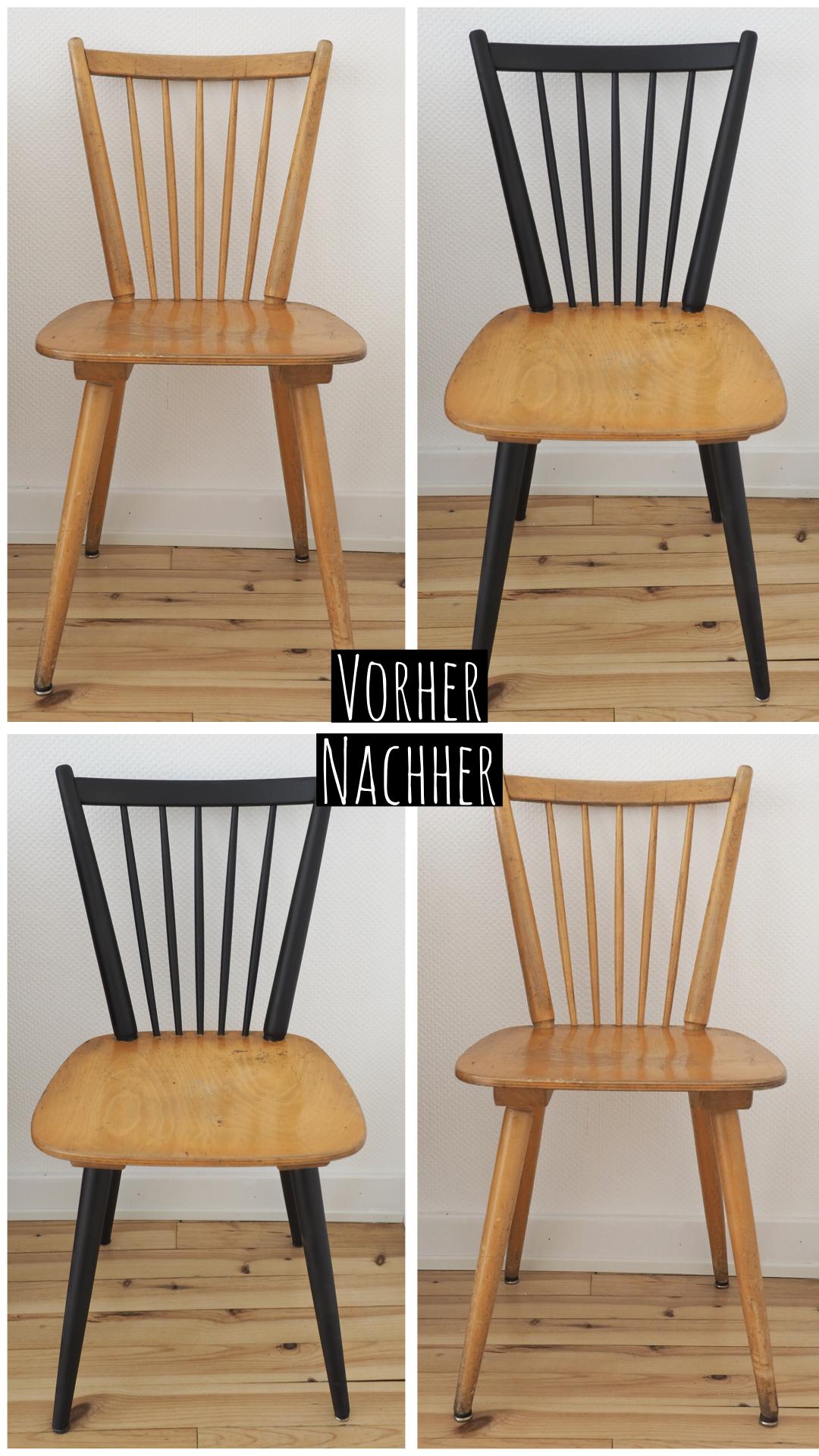 Easy Stuhl Upcycling So Bekommen Alte Stuhle Einen Neuen Look Alte Stuhle Stuhle Upcycling