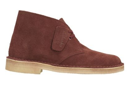Clarks Desert Boot. Terrakotta rot Clarks Originals