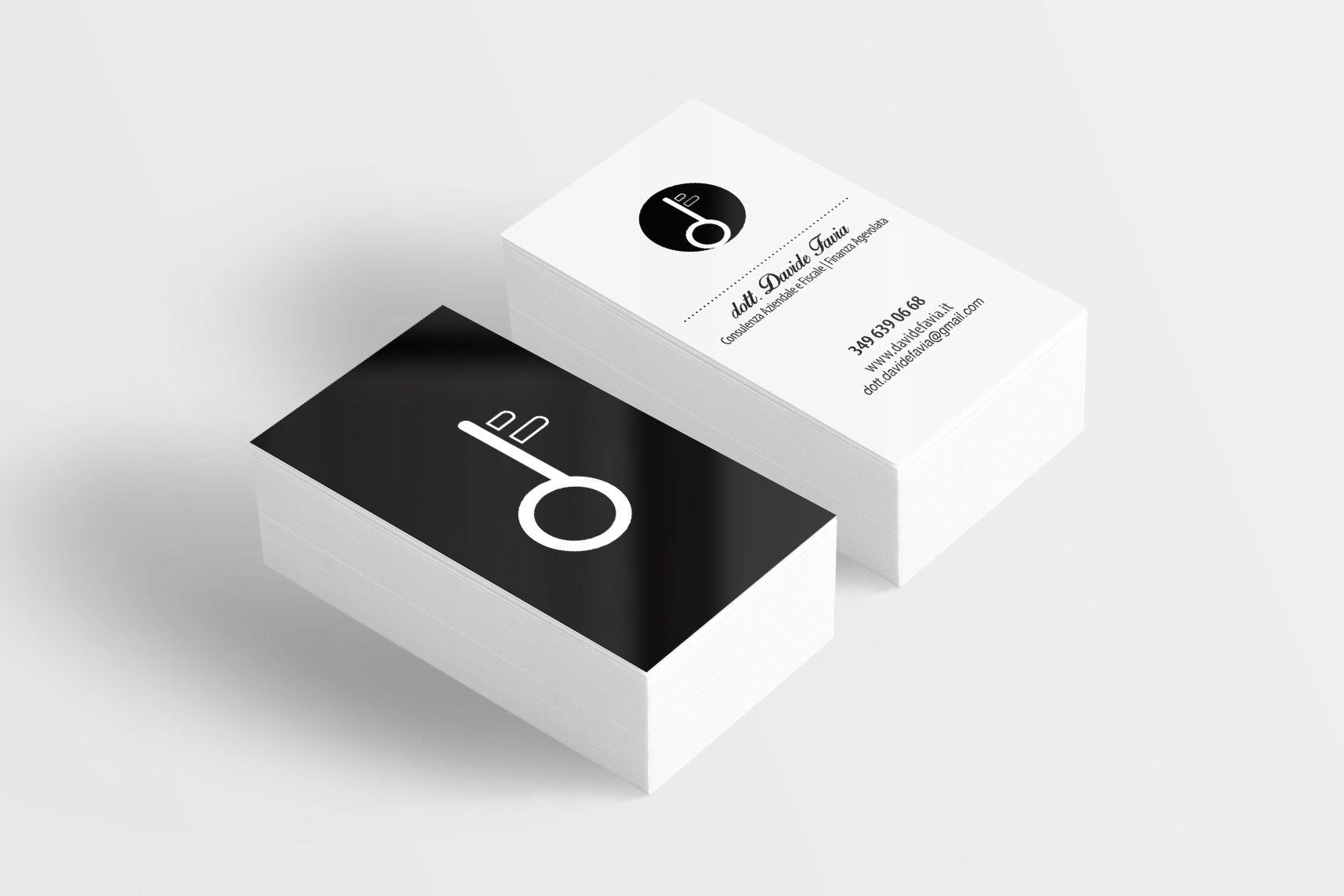 Business Card per Studio commerciale a Bari (Italy) Davide Favia