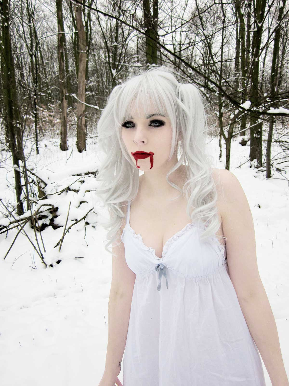 emo goth girls nude