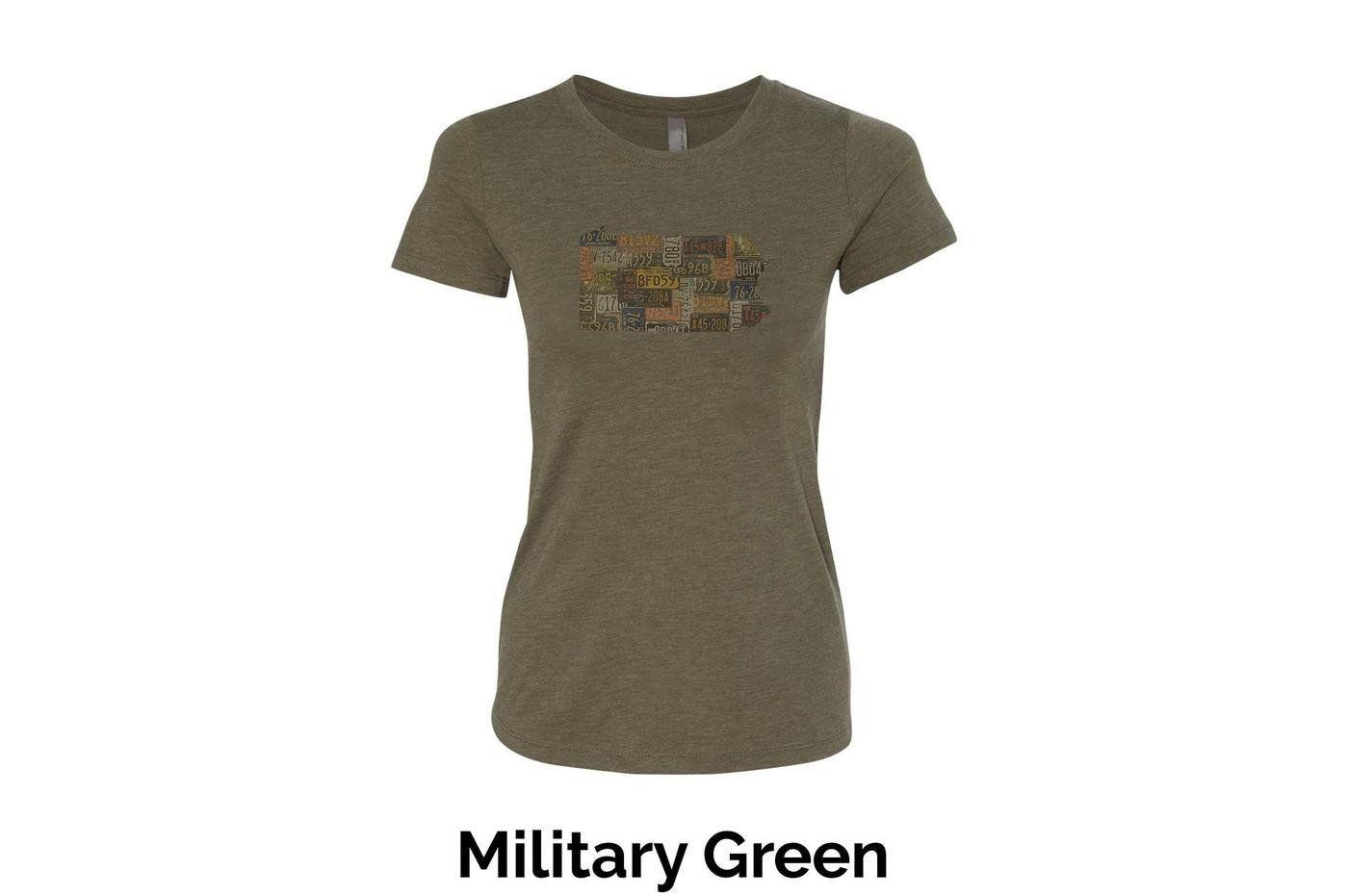 Women's Crew Neck T-Shirt - Pennsylvania